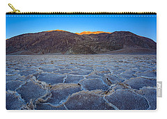 Shadows Fall Over Badwater Carry-all Pouch