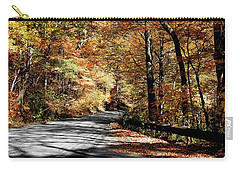Shadows On The Road Carry-all Pouch