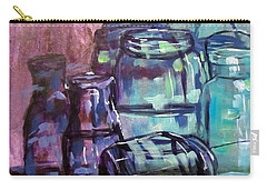 Shadows Through Glass Carry-all Pouch by Barbara O'Toole