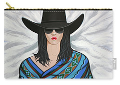 Shady Lady Carry-all Pouch by Lance Headlee
