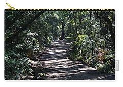 Shady Road On Mt Tamalpais Carry-all Pouch