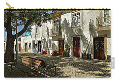 Shady Street In Tavira, Portugal Carry-all Pouch