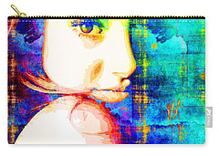 Shailene Woodley Carry-all Pouch by Svelby Art