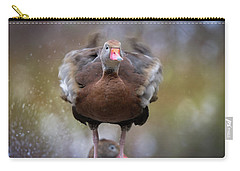 Carry-all Pouch featuring the photograph Shake Your Booty by Cindy Lark Hartman