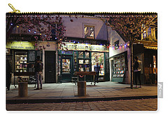 Carry-all Pouch featuring the photograph Shakespeare Book Shop 1 by Andrew Fare