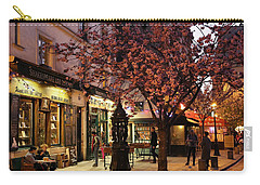 Carry-all Pouch featuring the photograph Shakespeare Book Shop 2 by Andrew Fare