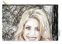 Shakira Carry-all Pouch by Raina Shah