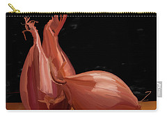 Shallots 01 Carry-all Pouch by Wally Hampton