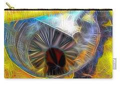 Carry-all Pouch featuring the digital art Shallow Well by Ron Bissett