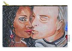 Shalonda  And  Rainer - All You Need Is Love Carry-all Pouch