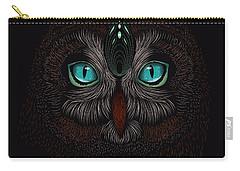 Shaman Spirit Owl Carry-all Pouch