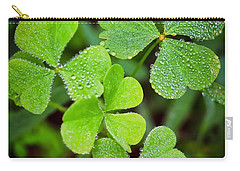 Shamrock Green Carry-all Pouch