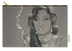 Shanghai Triad -- Portrait Of Chinese Film Star Carry-all Pouch