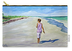Shannon At Pink Sands Carry-all Pouch