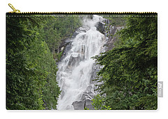 Carry-all Pouch featuring the photograph Shannon Falls by Rod Wiens
