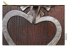 Carry-all Pouch featuring the photograph Shape Of My Heart by Juergen Weiss