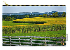 Shapely Cornfield 1 Carry-all Pouch
