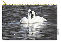 Carry-all Pouch featuring the photograph Sharing A Moment by Gary Wightman