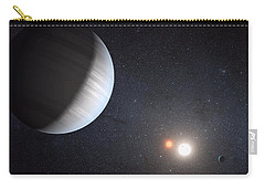 Sharing Two Suns Carry-all Pouch