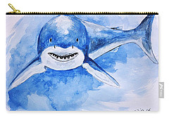 Shark Carry-all Pouch by Edwin Alverio