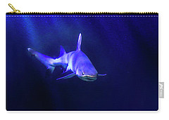 Carry-all Pouch featuring the photograph Shark by Jill Battaglia