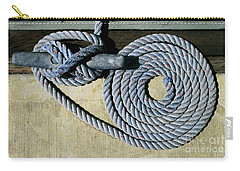 Sharon Hudson Marine Abstract - Coiled Ropes Carry-all Pouch