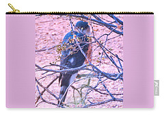 Sharp-shinned Hawk Hunting In The Desert 2 Carry-all Pouch