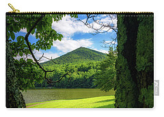 Sharp Top Through The Trees Carry-all Pouch