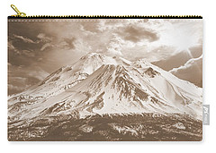 Carry-all Pouch featuring the photograph Shasta Mt by Athala Carole Bruckner