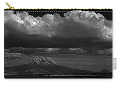 Carry-all Pouch featuring the photograph Shasta On July 17 by John Norman Stewart