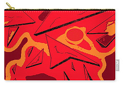 Shattered Carry-all Pouch by Denise Fulmer