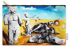 Shattered Limbs To Shattered Souls Carry-all Pouch by Helen Syron