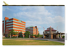 Carry-all Pouch featuring the photograph Shattuck Park by Joel Witmeyer