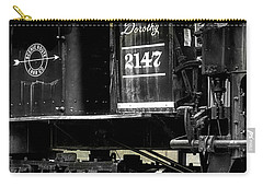 Shay Locomotive 2 Carry-all Pouch by Mike Eingle