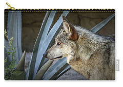 Carry-all Pouch featuring the photograph She Belongs To The Desert by Elaine Malott