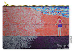 The Beach At Sunset Carry-all Pouch