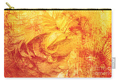 Carry-all Pouch featuring the digital art She Dreams 2017 by Kathryn Strick