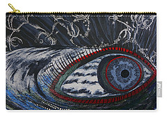 She Is Raging Carry-all Pouch by Stanza Widen