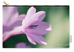 Carry-all Pouch featuring the photograph She Listens Like Spring by Linda Lees