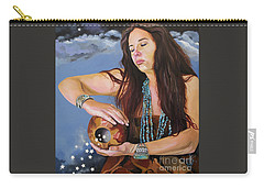 She Paints With Stars Carry-all Pouch
