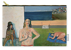 She Walks In Beauty Carry-all Pouch by Paul McKey