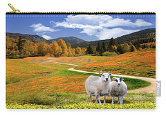 Sheep And Road Ver 3 Carry-all Pouch
