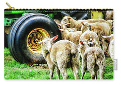 Sheep Guards Carry-all Pouch by Toni Hopper