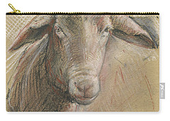 Sheep Head Carry-all Pouch by Juan Bosco