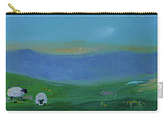 Sheep In The Meadow Carry-all Pouch