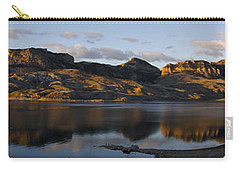 Sheep Mountain Sunrise - Panoramic-signed-12x55 Carry-all Pouch