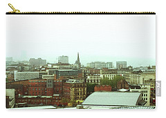 Carry-all Pouch featuring the photograph Sheffield Skyline by Anne Kotan