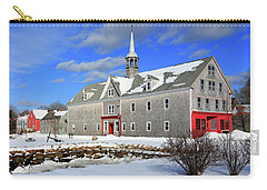 Shelburne, Nova Scotia In Winter Carry-all Pouch