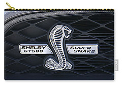 Shelby Gt 500 Super Snake Carry-all Pouch