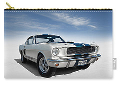 Carry-all Pouch featuring the digital art Shelby Mustang Gt350 by Douglas Pittman